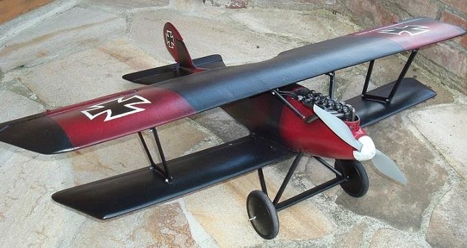 "Pfalz D3a in ""Full-Fuse""- Bauweise aus Depron"
