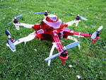 Multicopter Hauben / Causemann Hexacopter